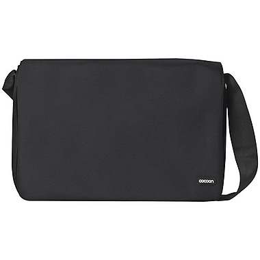 Cocoon® Grid-It!® Soho 16in. Laptop Messenger Bag, Black