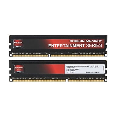 AMD Radeon™ Entertainment 16GB (2 x 8GB) DDR3 (240 Pin UDIMM) DDR3 1600 (PC3 12800) Memory Kit