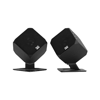 Palo Alto Cubik HD 24 Bit Speaker System For Smartphones/Tablet, Black