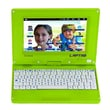 "Lexibook Laptab MFC140EN, 7"" Tablet, 4 GB, Android Ice Cream Sandwich, Wi-Fi, Green"