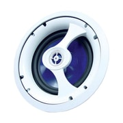speco technologies® 25 6.5 40 W RMS In-Ceiling 2-way Speaker, White