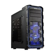 Enermax Ostrog Giant ECA3280A-BL Mid Tower Computer Case, Black/Blue