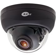 KT&C KPC-DE100NUV17B 750TVL 3-Axis Dual Voltage Indoor Color Dome Surveillance Camera, Black