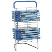 Atlantic® Nestable DVD Wire Rack For Up to 16 Blu-Ray/DVD's