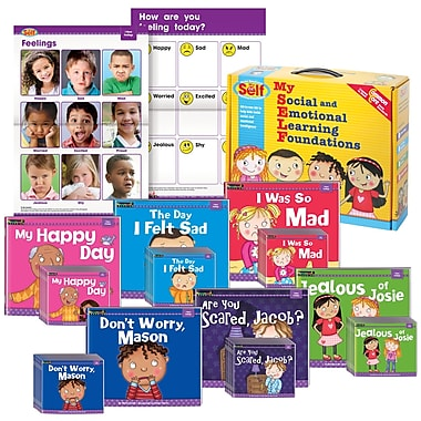 Myself by Newmark Learning I Have Feelings Theme Boxed Set
