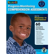 Progress Monitoring Comprehension Assessments with CD-ROM by Newmark Learning