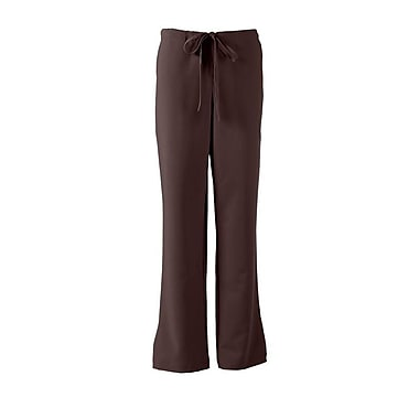 Melrose AVE.™ Combo Elastic Waist Ladies Scrub Pant, Chocolate, Small