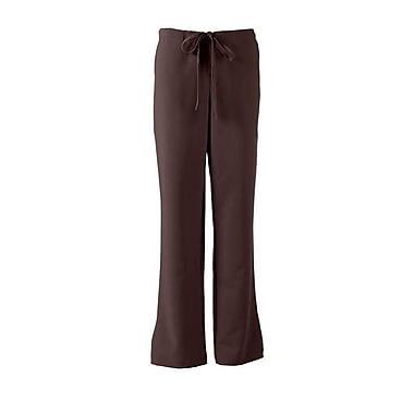 Melrose AVE.™ Combo Elastic Waist Ladies Scrub Pant, Chocolate, ST
