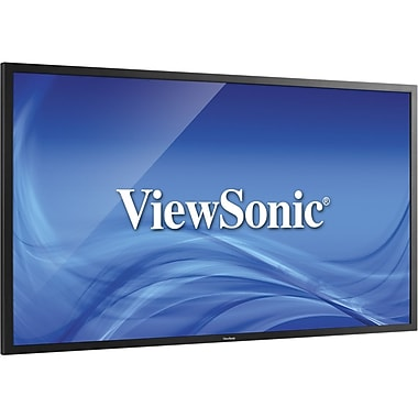 ViewSonic® CDE4600-L 46in. LED LCD Digital Signage Display