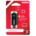 Imation 16GB 2-in-1 Micro USB Flash Drive