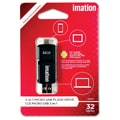 Imation 32GB 2-in-1 Micro USB Flash Drive