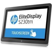 HP® SmartBuy EliteDisplay S230tm 23 LED LCD Touchscreen Monitor