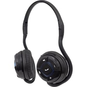 Manhattan® Flex On-ear Wireless Wraparound Foldable Headphone, Black