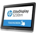 HP® EliteDisplay E4S03AA#ABA 23in. LED LCD Touchscreen Monitor