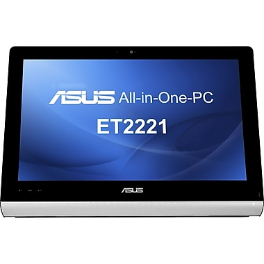 Asus® ET2221AUKR 21.5in. Full HD Multitouch AIO Desktop Computer, AMD Quad-Core A8-5550M 2.1 GHz