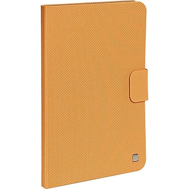 Verbatim 98412 Rubber Folio Case for Apple iPad Air, Tangerine Orange