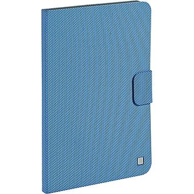 Verbatim 98413 Rubber Folio Case for Apple iPad Air, Aqua Blue