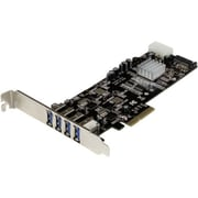 StarTech 4 Port Dual Bus PCI Express SuperSpeed USB 3.0 Card Adapter