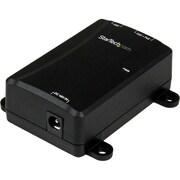 StarTech 1 Port Power over Ethernet Injector, Black