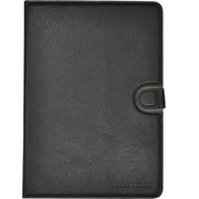 "Gear Head UNV2000BLK-10 Black Leather Port Folio Case for 10"" Universal Tablet"