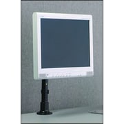 Peerless Height Adjustable Desktop Mount; Black