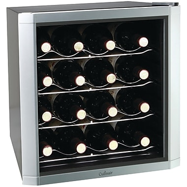 Culinair 16 Bottle Single Zone Thermoelectric Wine Refrigerator