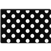 iCanvas Modern Art cPolka Dots Modern Graphic Art on Canvas; 26'' H x 40'' W x 0.75'' D
