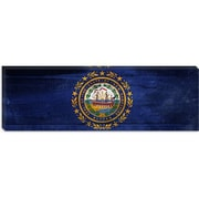 iCanvas Flags New Hampshire Panoramic Graphic Art on Canvas; 16'' H x 48'' W x 1.5'' D
