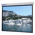 Buhl Sorrento Matte White Electric Projector Screen; 84'' H x 84'' W