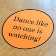 Cathys Concepts Custom Wedding Decorations Custom Dance Floor Decal; Standard (39'')