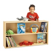 Young Time Straight Shelf Storage Unit; Assembled