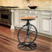 Home Loft Concept Raylene Bicycle Wheel Adjustable Height Bar Stool