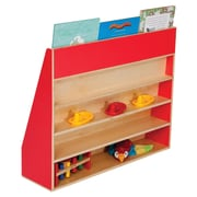 Wood Designs Book Display Stand; Strawberry Red