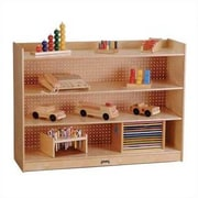 Jonti-Craft ThriftyKYDZ 35.5'' Mobile Bookcase with Lip