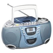 Hamilton Portable CD Player with Cassette and Radio; Single
