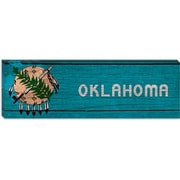 iCanvas Flags Oklahoma Panoramic Graphic Art on Canvas; 12'' H x 36'' W x 1.5'' D