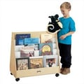 Jonti-Craft 30'' Mobile Pick-a-Book Stand with 2 Sided