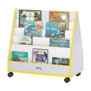 Jonti-Craft Rainbow Accents Mobile Book Display; Blue