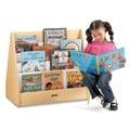 Jonti-Craft 28'' H Multi Pick-a-Book Stand with Casters - 2 Sided