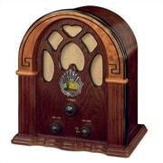 Crosley Old-fashioned Companion Walnut/Burl Radio