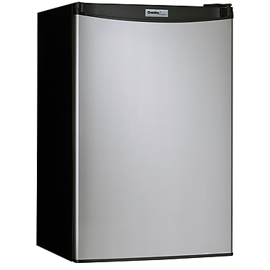Danby 4.3 Cu.Ft. Compact Refrigerator; Spotless Steel Finish