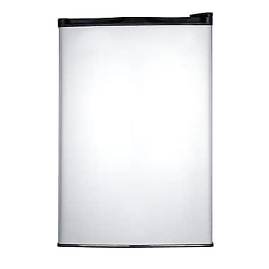 Haier 4.5 Cu. Ft. Compact Refrigerator with freezer; Black Cabinet