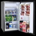 Haier 3.2 Cu. Ft. Compact Refrigerator with freezer; White