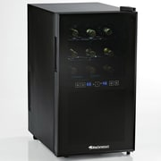 Wine Enthusiast Companies Silent 18 Bottle Dual Zone Freestanding Wine Refrigerator
