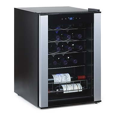Wine Enthusiast Companies 20 Bottle Dual Zone Wine Refrigerator