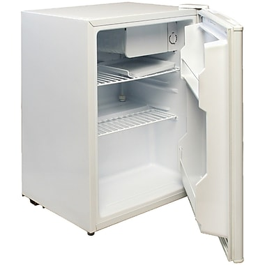 Magic Chef 2.4 Cu. Ft. Compact Refrigerator; White