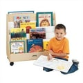 Jonti-Craft 30'' H Mobile Pick-a-Book Stand - 1 Sided
