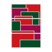 iCanvas Modern Made to Fit ll Graphic Art on Canvas; 26'' H x 18'' W x 0.75'' D