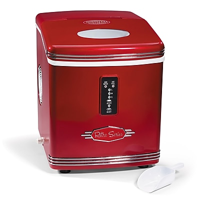 Nostalgia Electrics Retro 12 W 26 lb. Portable Ice Maker