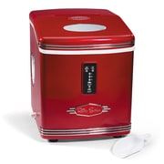 Nostalgia Electrics Retro 12'' W 26 lb. Portable Ice Maker
